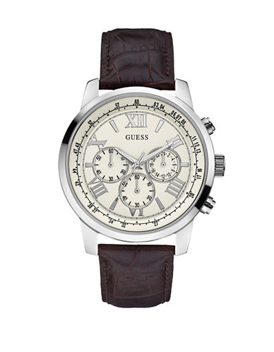 Guess Mens Brown Sport Watch W0380G2-BROWN-One Size