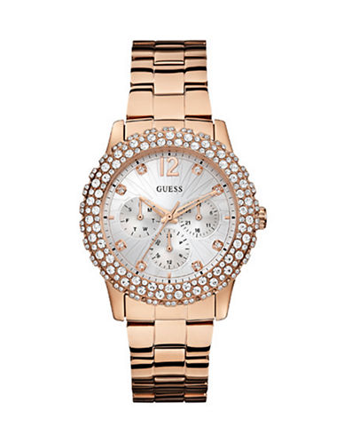 Guess W0335L3 Ladies Watch-PINK-One Size