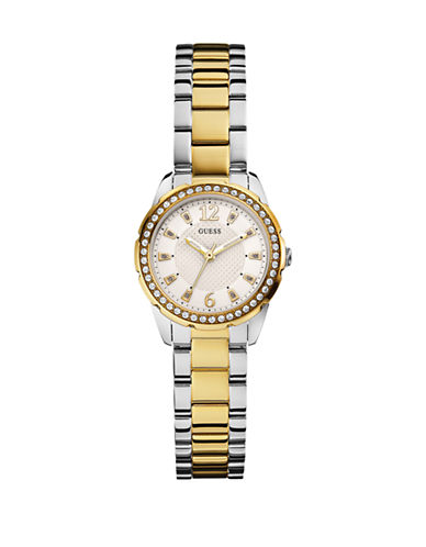 Guess Ladies 2Tone Watch 28mm W0445L4-SILVER-One Size