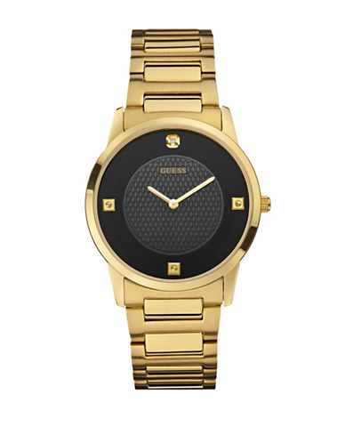 Guess Analog Goldtone 39mm W0428G1 Stainless Steel Watch-GOLD-One Size