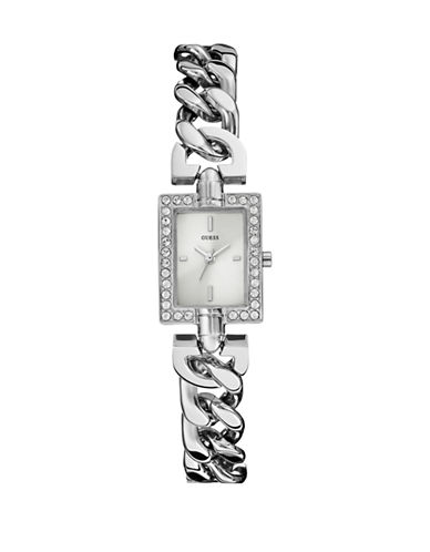 Guess Ladies Silver Tone Watch W0540L1-SILVER-One Size
