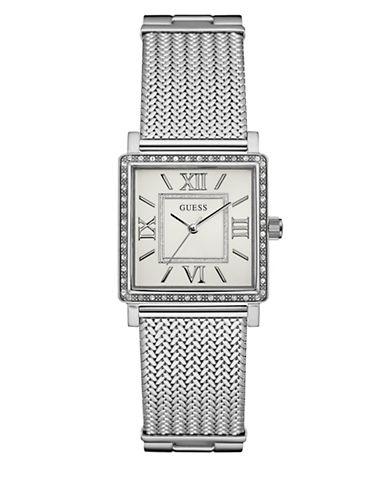 Guess Dress Analog W0826L1 Silvertone Bracelet Watch-SILVER-One Size
