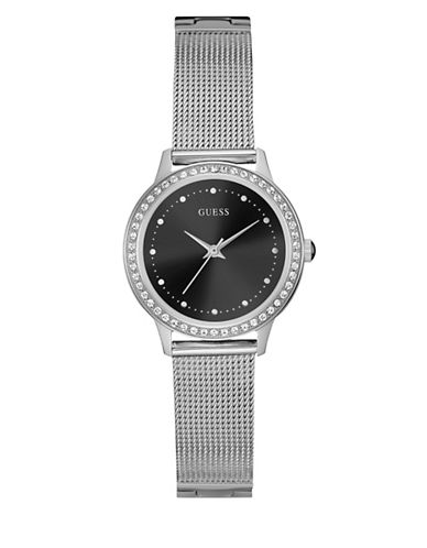 Guess Dress Analog W0647L5 Silvertone Bracelet Watch-SILVER-One Size