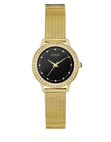 Guess Dress Analog W0647L8 Goldtone Bracelet Watch-GOLD-One Size