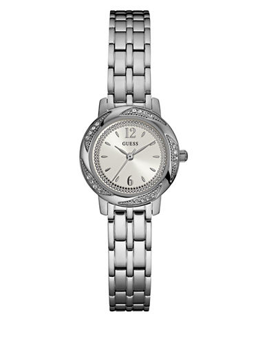 Guess Stainless Steel Bracelet Watch-SILVER-One Size
