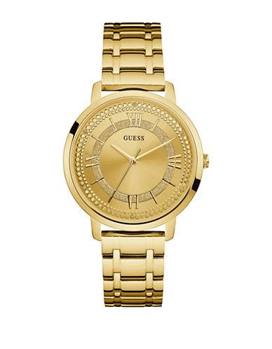 Guess Goldtone Bracelet Watch W0933L2-GOLD-One Size