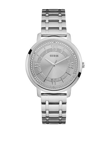 Guess Silvertone Bracelet Watch W0933L1-SILVER-One Size