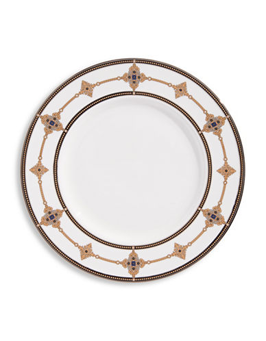 Lenox Vintage Jewel Accent Plate-WHITE-One Size