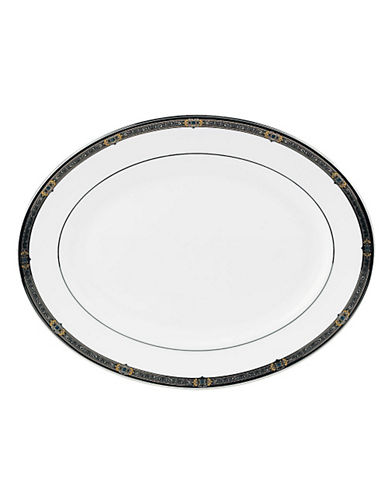 Lenox Vintage Jewel Platter 13In-WHITE-One Size