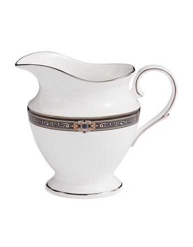 Lenox Vintage Jewel Creamer-WHITE-One Size