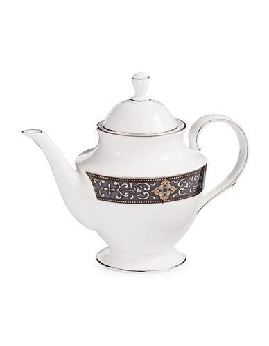 Lenox Vintage Jewel Teapot-WHITE-One Size