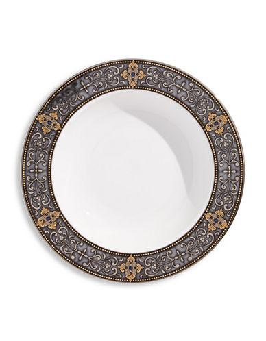 Lenox Vintage Jewel Rim Soup Bowl-WHITE-One Size
