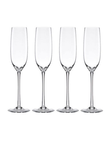 Lenox Tuscany Classics Fluted Champagne Set of 4-NO COLOUR-One Size