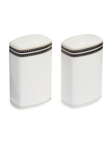 Kate Spade New York Union Street Salt and Pepper Shakers-WHITE-One Size