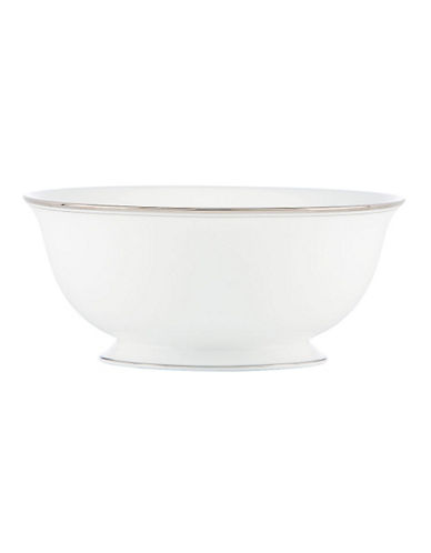 Kate Spade New York Library Lane Serving Bowl-WHITE-One Size