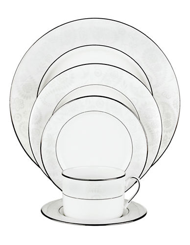 Kate Spade New York Bonnabel Place 5-Piece Setting-WHITE-One Size