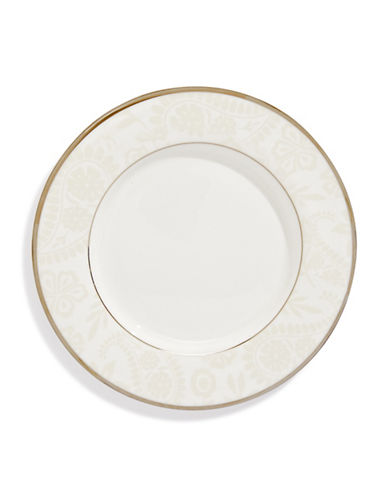 Kate Spade New York Bonnabel Place Accent Plate-WHITE-One Size