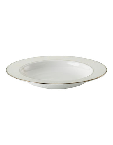 Kate Spade New York Bonnabel Place Pasta and Soup Dish-WHITE-One Size