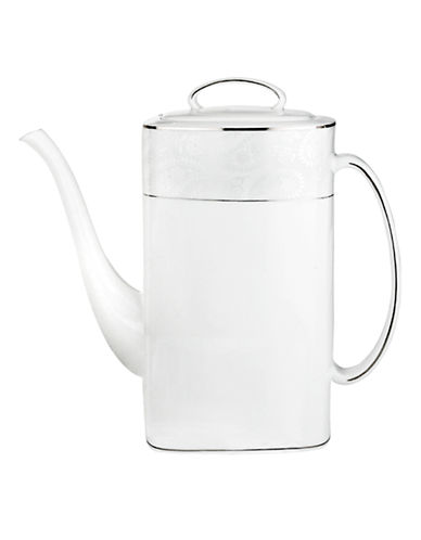Kate Spade New York Bonnabel Place Coffee Pot-WHITE-One Size