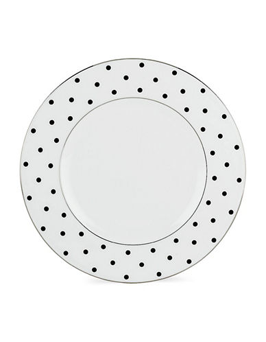 Kate Spade New York Larabee Road Accent Plate-WHITE-One Size
