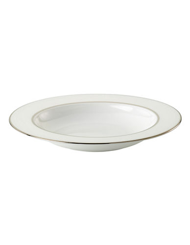 Kate Spade New York Cypress Point Pasta/ Rim Soup-WHITE-One Size