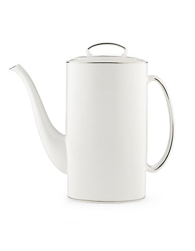 Kate Spade New York Cypress Point Coffee Pot with Lid-WHITE-One Size