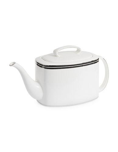 Kate Spade New York Union Street Teapot-WHITE-One Size