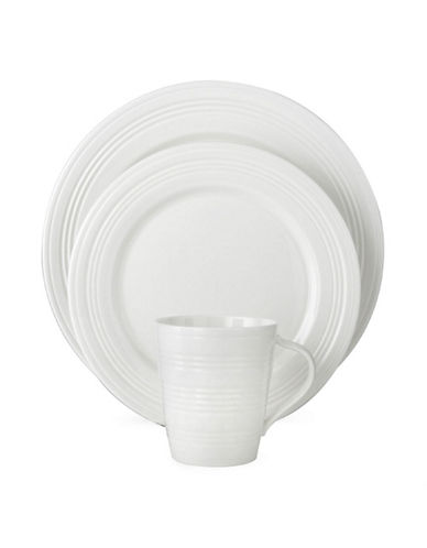 Lenox Tin Can Alley 4 Degree 4 Piece Place Setting-WHITE-One Size