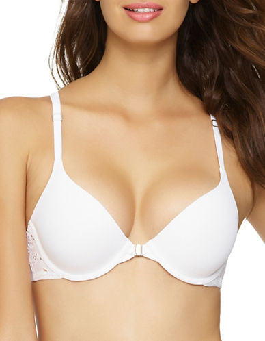 Unveiled Beautiful Love Seamless Contour Bra-WHITE-38C