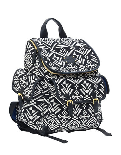 CarterS Aztec Jacquard Backpack Diaper Bag-BLACK-One Size
