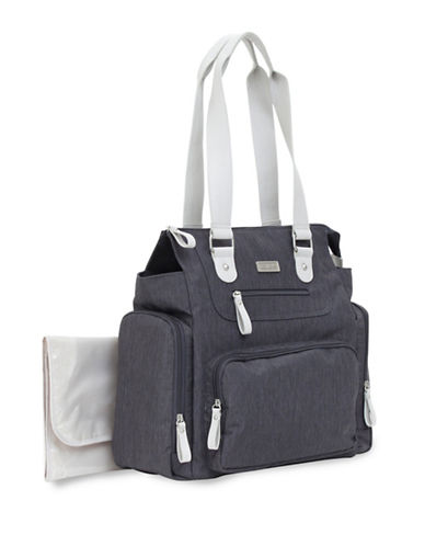 CarterS Pack It All Tote Diaper Bag-GREY-One Size