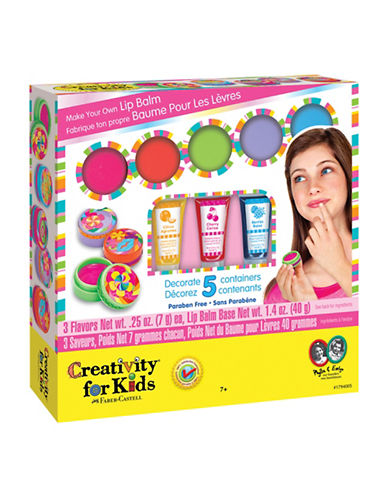 Creativity For Kids Make Your Own Lip Balm Kit-MULTI-One Size