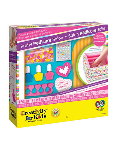 Creativity For Kids Pretty Pedicure Salon-MULTI-One Size