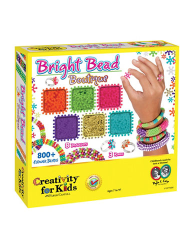 Creativity For Kids Bright Bead Boutique-MULTI-One Size