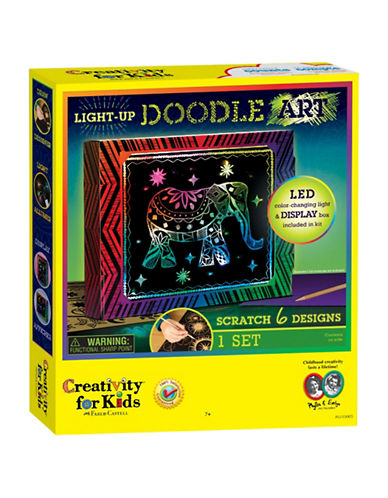 Creativity For Kids Light-Up Doodle Art-MULTI-One Size