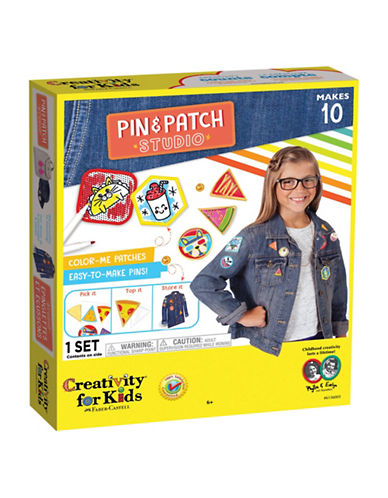 Creativity For Kids Pin and Patch Studio-MULTI-One Size