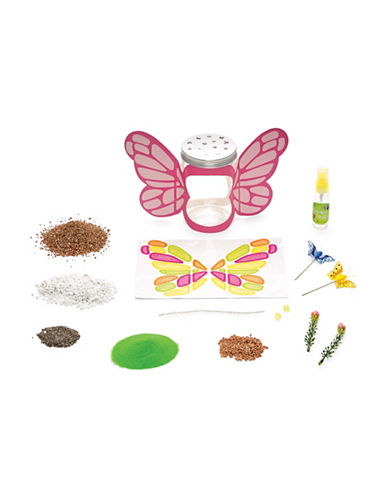 Creativity For Kids Sparkle N Grow Butterfly Terrarium-MULTI-One Size
