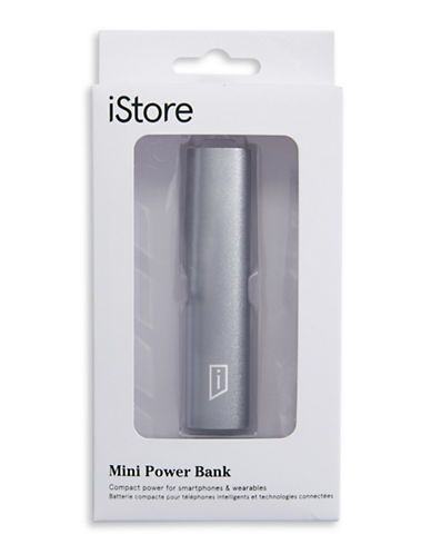 Istore 2600 mAH Mini Power Bank-GREY-One Size