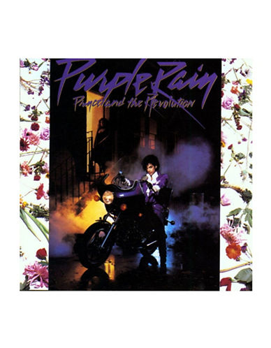 Vinyl Prince - Purple Rain-BLACK-One Size