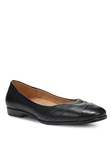 Naturalizer Jaye Contoured Ballet Flats-BLACK-10