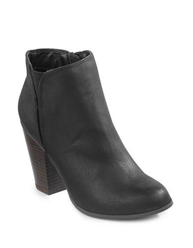 Fergalicious Punch Ankle Boots-BLACK-7.5