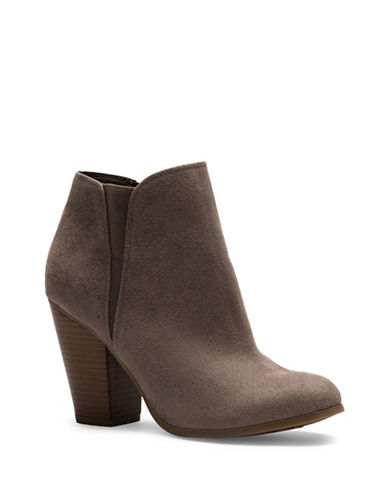 Fergalicious Punch Ankle Boots-GREY-7.5