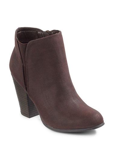 Fergalicious Punch Ankle Boots-BRICK-11