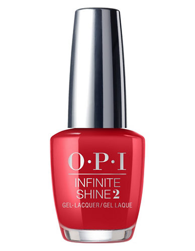 Opi Big Apple Red Infinite Shine Nail Lacquer-BIG APPLE RED-15 ml