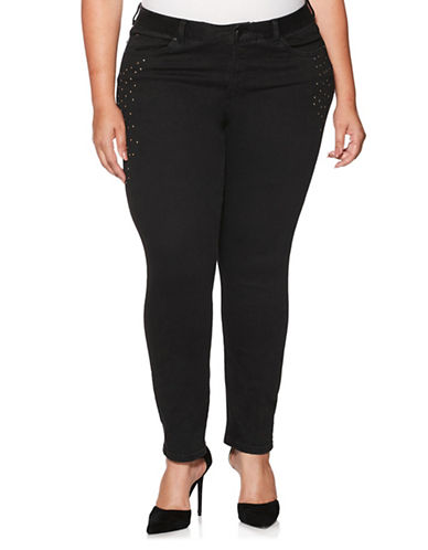 Rafaella Plus Plus Weekend Jeans-BLACK-18W