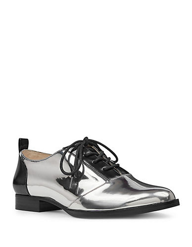 Nine West Hyida Pewter Loafers-PEWTER-8