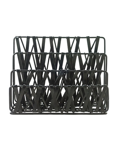 Design Ideas Tangle Letter Sorter-BLACK-One Size