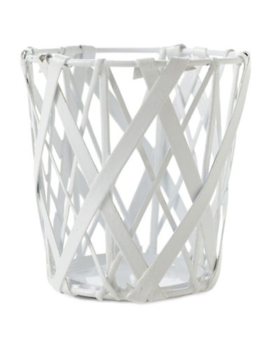 Design Ideas Tangle Pencil Cup-WHITE-One Size