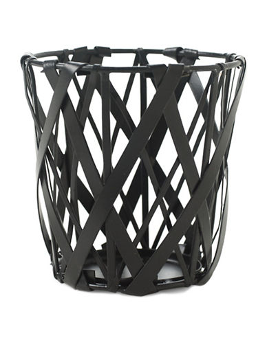 Design Ideas Tangle Pencil Cup-BLACK-One Size