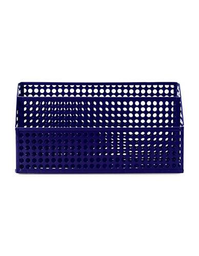 Design Ideas Steel Eyelet Letterbin-BLUE-One Size